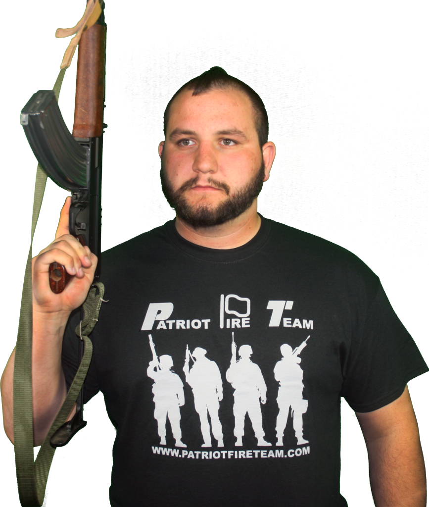 Patriot Fire Team Shirt Front-Jarrad